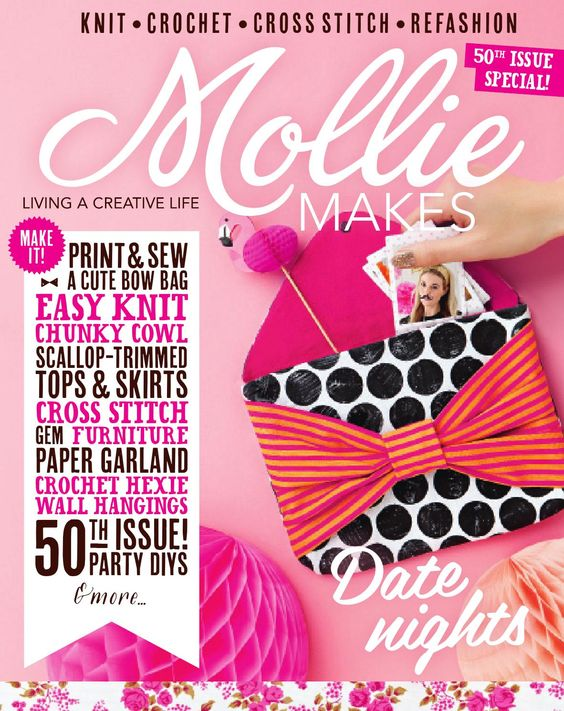 Mollie makes issue 50, 2015