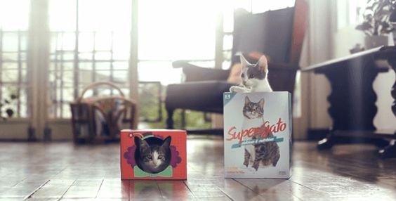 猫まっしぐら! 売上が31%もアップしたパッケージデザインによる革命 – Super Gato | STYLE4 Design
