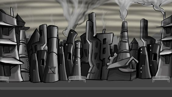 Background used for a collab project for Center for Curiosity