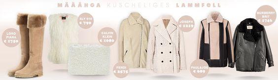 MÄÄHHHGAA kuscheliges Lammfell ist perfekt für dieses Schmuddelwetter :) #designer #fashion