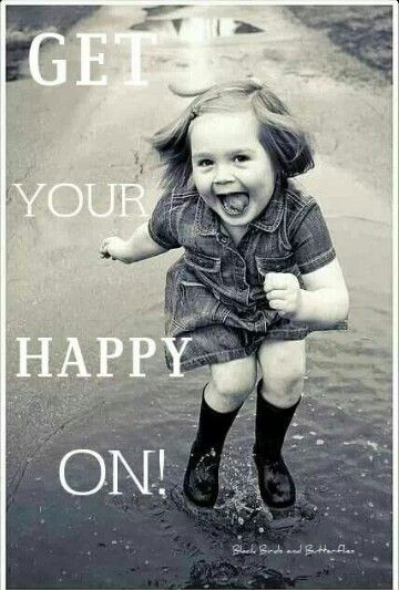 Get your happy on..