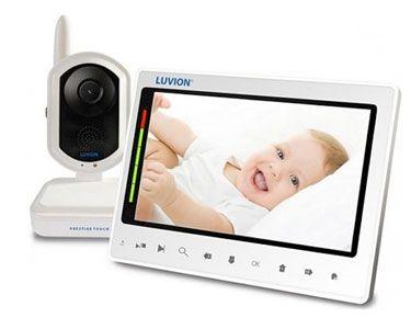 De Prestige touch van Luvion is een mooie babyfoon met camera voorzien van tiptoetsbediening en een visuele indicatie van het geluid door middel van leds. Uit te bereiden met meerdere camera's. De babyfoon is voorzien van slaapliedjes, terugspreekfunctie en een opnamefunctie.