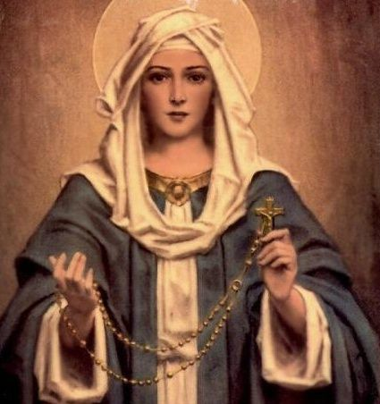 Our Lady of the Rosary...The fifteen promises to Christians who pray the Rosary...Amazing!: