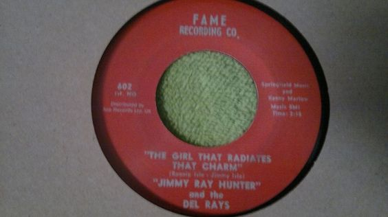 Northern Soul Jimmy Ray Hunter and Del Rays-The Girl That Radiates That Charm