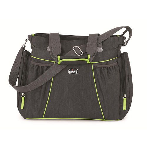 """Chicco Zest Tote Diaper Bag - Charcoal - California Innovations - Babies """"R"""" Us"""
