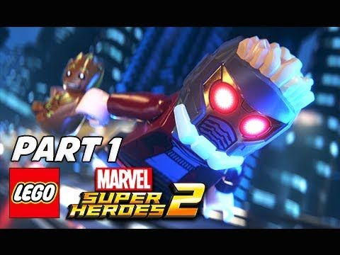 Lego Marvel Super Heroes 2 Walkthrough Part 1 Guardians Of The Galaxy Lego Marvel Super Heroes Lego Marvel Superheroes 2 Lego Marvel
