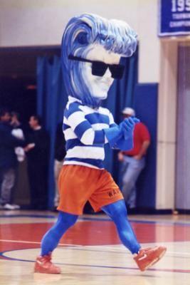 Pepperdine Waves mascot, Willie the Wave, 1992 | College ...