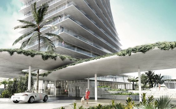 Grove at Grand Bay by Bjarke Ingels Group in Miami, United States