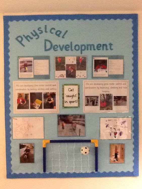 Classroom Improvement Ideas ~ Physical development display classroom improvement
