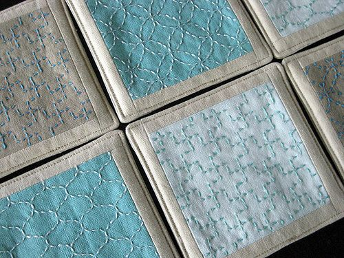 sashiko   wouldn't this be a great quilt for me
