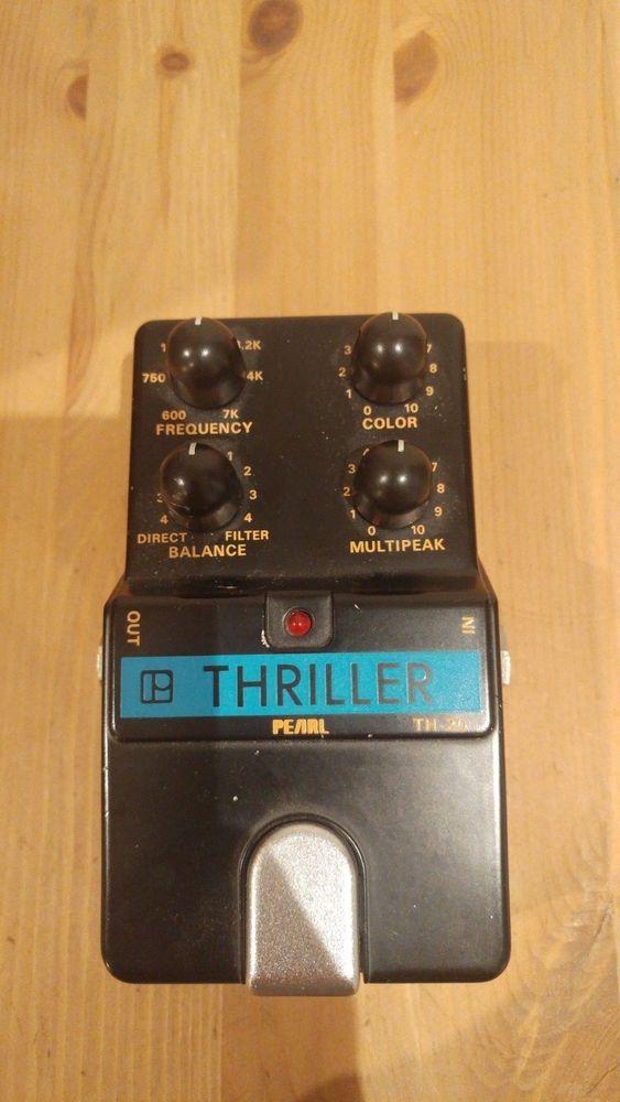 Pearl Thriller Th 20 Used Rare Vintage Guitar Effects Pedal Guitar Effects Pedals Guitar Effects Vintage Guitars