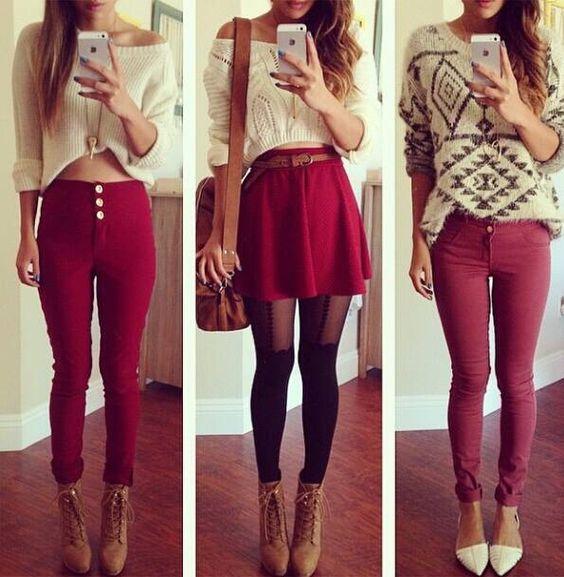 Look#vermelho#red#lindo#moda