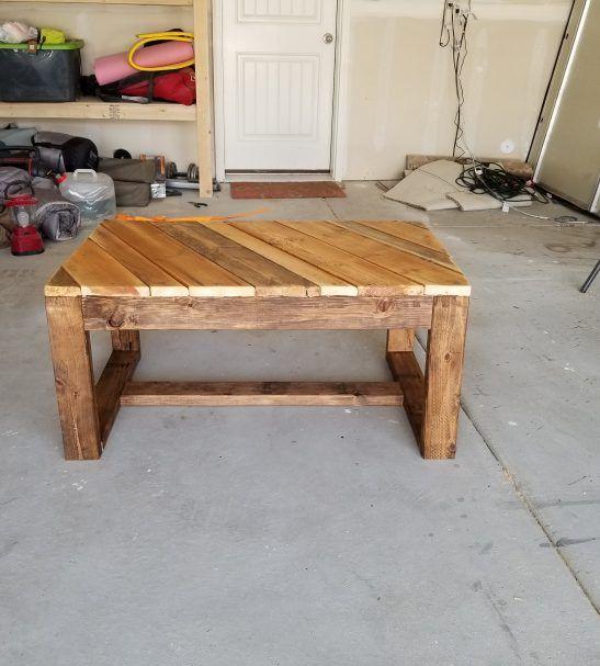 Coffee Table Reclaimed Wood Coffee Table Pallet Furniture Handmade Coffee Table