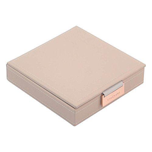 Stackers Blush Pink Charm Lidded Jewellery Box Amazon Co Uk Kitchen Home Pink Charm Blush Pink Stackers