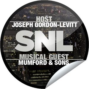 Saturday Night Live: Joseph Gordon-Levitt and Mumford...Joseph Gordon-Levitt makes his return to SNL with Mumford & Sons! Check-in with GetGlue.com for this exclusive sticker!