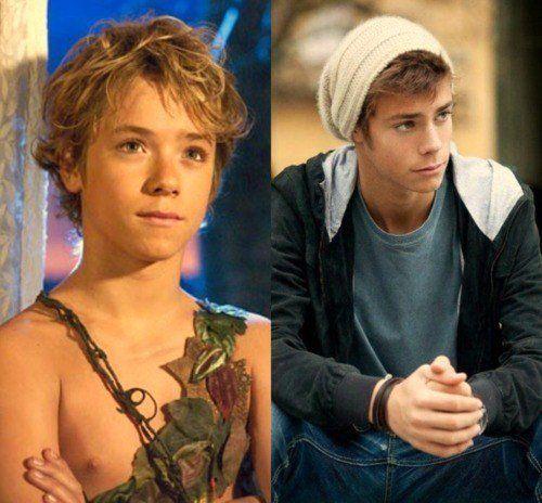 So who else had a crush on Peter Pan? Who else STILL has one? :) haha you know it: