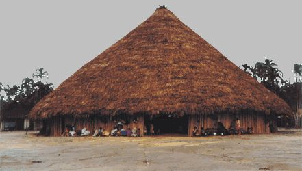 Oca é o nome dado à típica habitação indígena brasileira. O termo é oriundo da família linguística tupi-guarani.