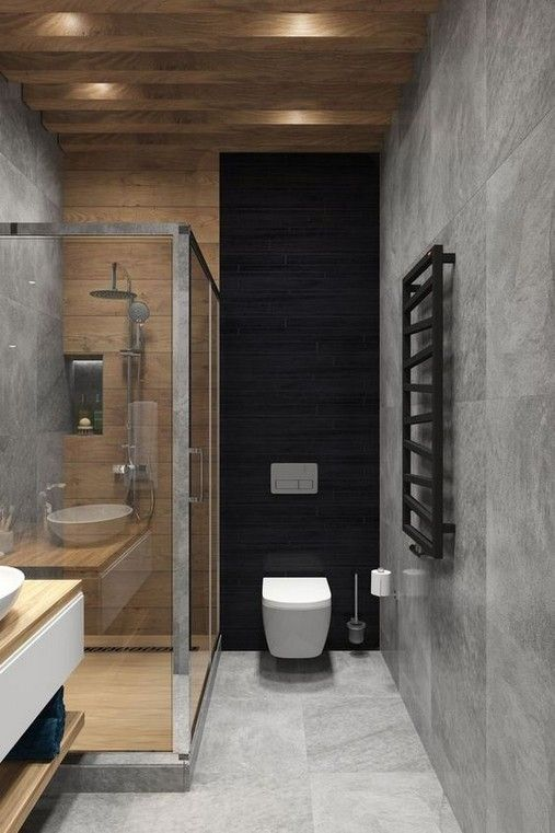 27 Contemporary Bathrooms Designs To Inspire You Modern Bathroom Small Bathroom Decor Bathroom Interior