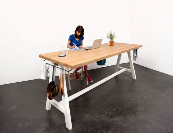 A Multipurpose Table You Can Prep, Cook, and Eat At Kitchen prep - prep cook