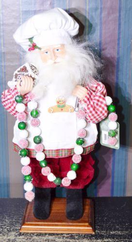 Santa-s-Workshop-16-Hand-crafted-Baking-Santa-Claus-Candy-Garland-Gingerbread