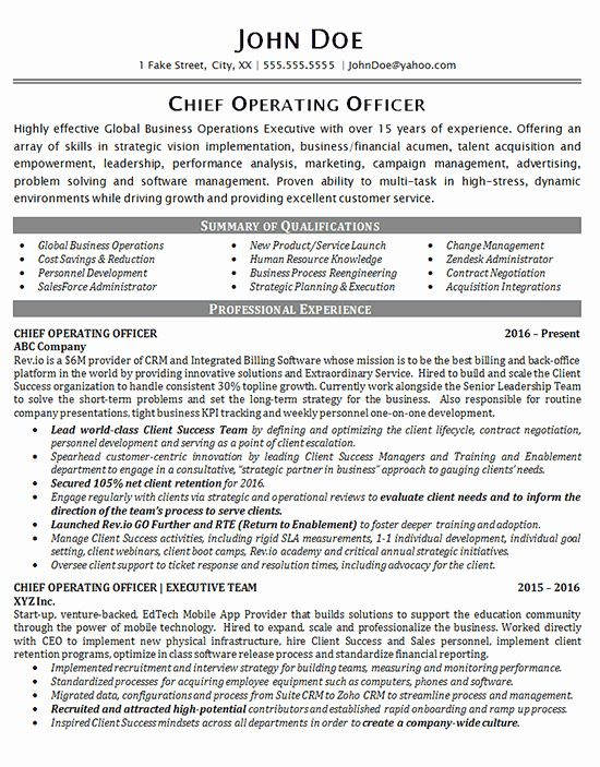 Chief Marketing Officer Resume Fresh Chief Operating Ficer Global Business Operations Softwa In 2020 Chief Operating Officer Chief Marketing Officer Job Resume Samples