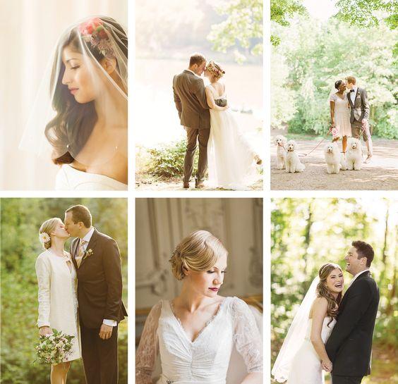 Kuenstlerische Hochzeitsreportage