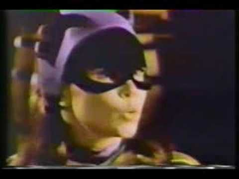 Batgirl explains the federal equal pay law to Batman and Robin, who are dicks about it.