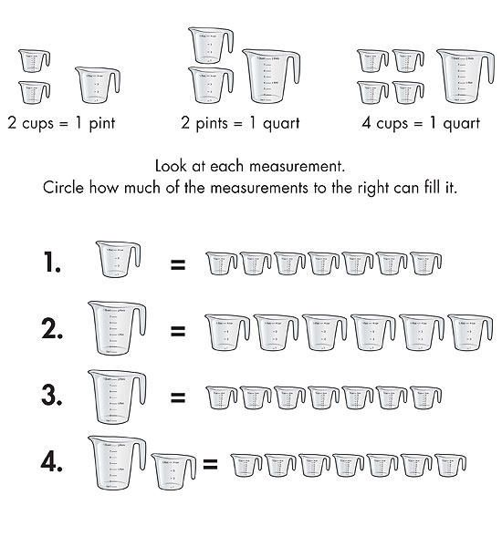 4 Printable Measurement Worksheets For Kids Measurement Worksheets Measurement Third Grade Worksheets