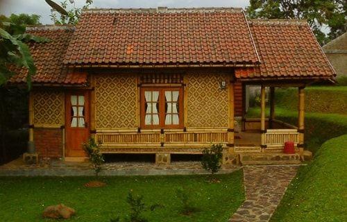 15 Gambar Desain Rumah Adat Jawa Barat Sunda Selengkapnya