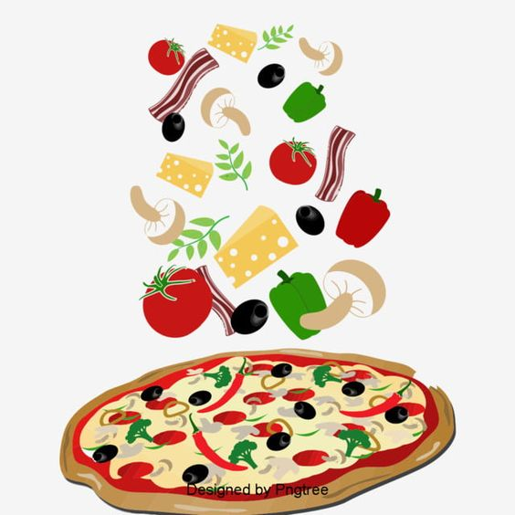 Delicious Pizza Creative Material Design Png And Psd Delicious Pizza Food Logo Design Food Photography Vegetables