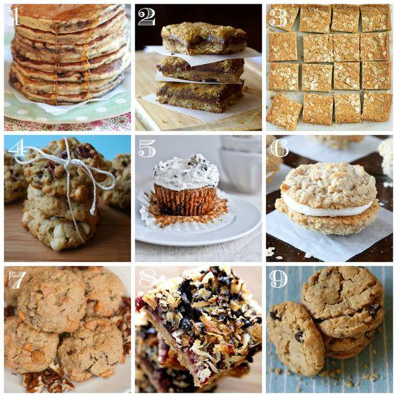 Best oatmeal dessert recipes • CakeJournal.com