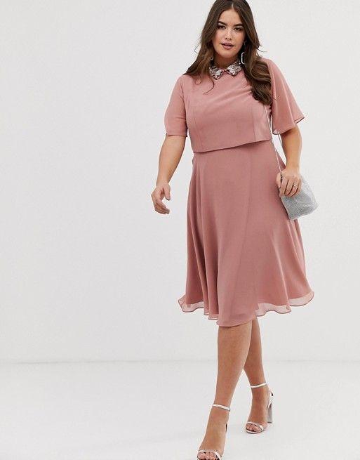 Klikni da pogledas celu kolekciju plus size haljina za