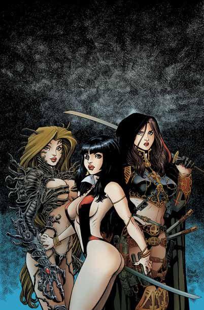 Arthur Adams - Witchblade, Vampirella & Magdalena