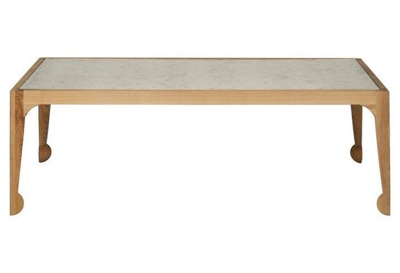 Riona Elm Coffee Table, Natural