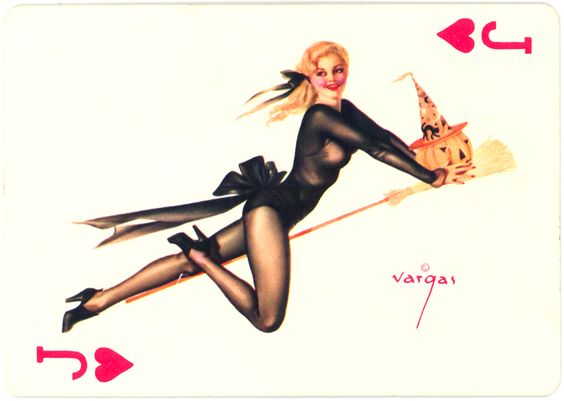 Vargas Vanities Witch, 1953 « Sexy Witch