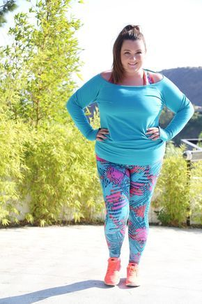 Gorgeous Workout Plus Size