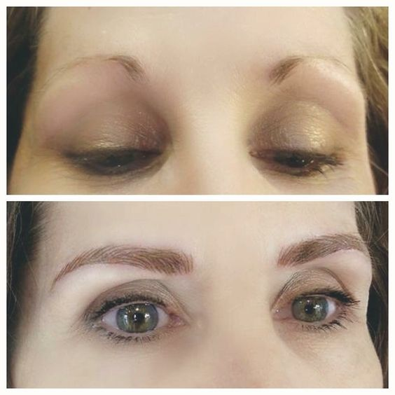 Eyebrow microblading feathertouch how to fill in brows for Eyebrow tattoo microblading