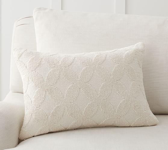 Damia Textured Lumbar Pillow Cover In 2020 Lumbar Pillow Cover Pillows Pillow Covers