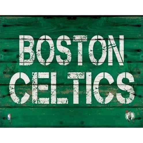 rustic boston celtics wall decor - Google Search