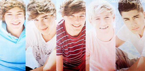 Harry Edward Styles.♥ Liam James Payne. Louis William Tomlinson. Niall James Horan. Zayn Jaawad Malik. 1D♥(:
