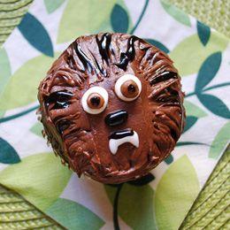 Tutorial para hacer cupcakes de Chewaca.