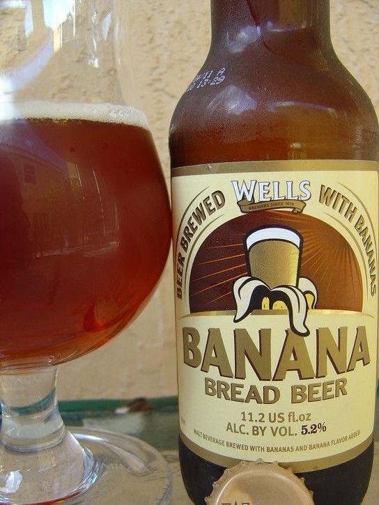 Banana bread beer. Yum!