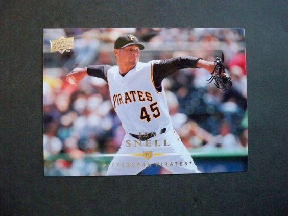 2008 Upper Deck #202 Ian Snell Pirates NM/MT