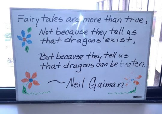 Fairy tales are more than true…