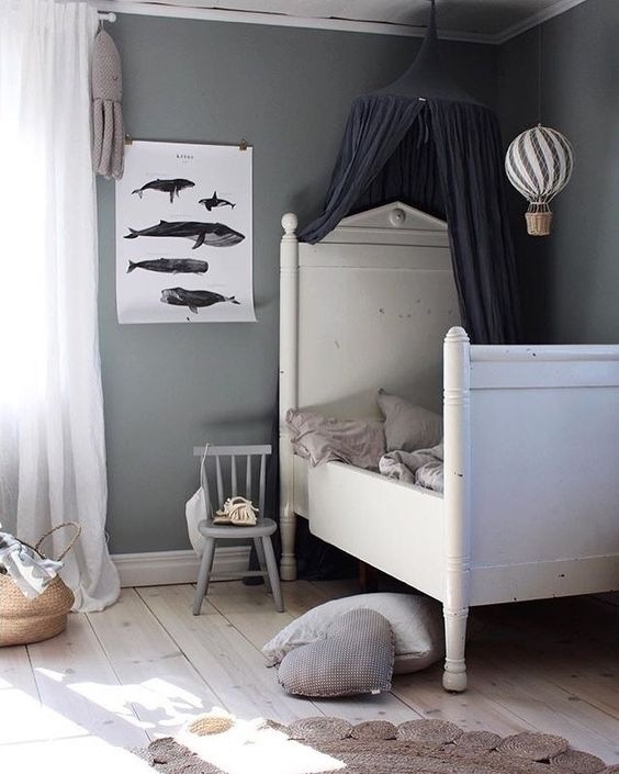 'Kētos' print in the beautiful kids room of talented @emsloo #cocolapine