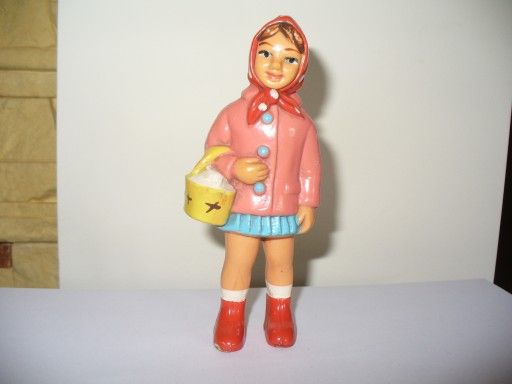 Czerwony Kapturek Lalka Figurka Stara 7447910087 Oficjalne Archiwum Allegro Harajuku Style Fashion