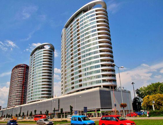 Tri Veze Buildings - larson ® silver - Bratislavia (SLOVAKIA)