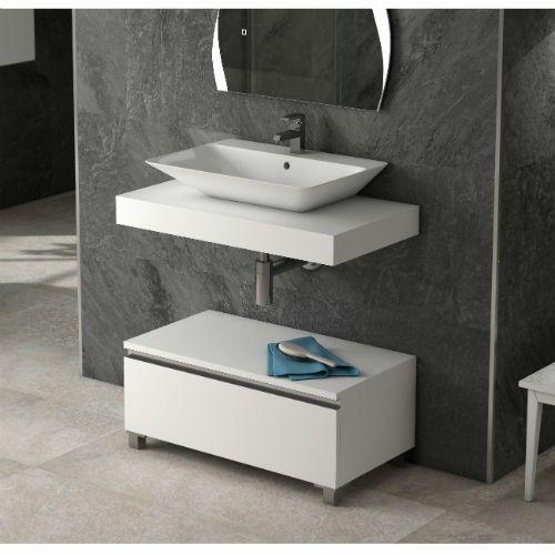 Mueble Auxiliar De Baño Lip Blanco Muebles Auxiliares Baño Muebles Para Baños Modernos Muebles De Baño