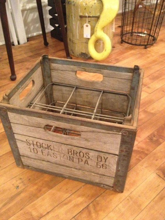 old milk crate decorating in the city pinterest