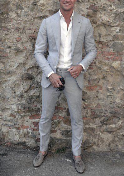 promo code 04039 4f0ae Wie man einen Anzug ohne Krawatte trägt – 50 Mode-Stile für ...